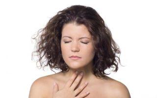 Спазмы в горле при глотании: причины, симптомы и лечение