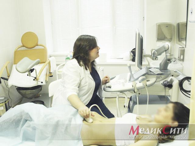 Процедура: гинекологический осмотр влагалища на кресле