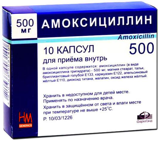 Амоксициллин в гинекологии - показания, инструкция по применнению