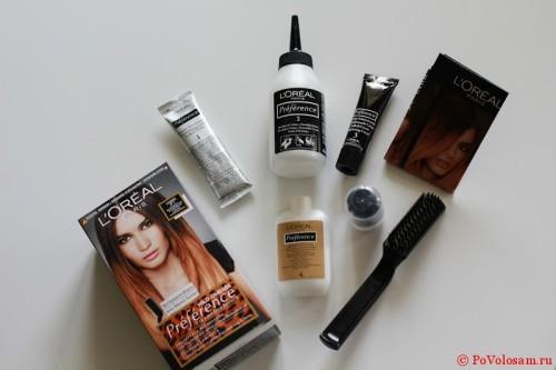 Краска для омбре Лореаль Преферанс: палитра оттенков с фото, как сделать окрашивание на темные и светлые волосы