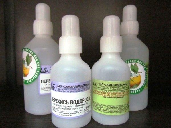 Отбеливание зубов перекисью водорода: 3способа