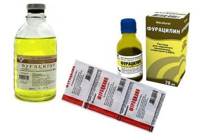 Фурацилин при молочнице: инструкция, подмывание, спринцевание