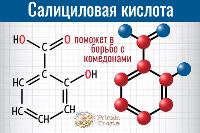 Салициловая кислота от черных точек: особенности применения, результат, отзывы и фото