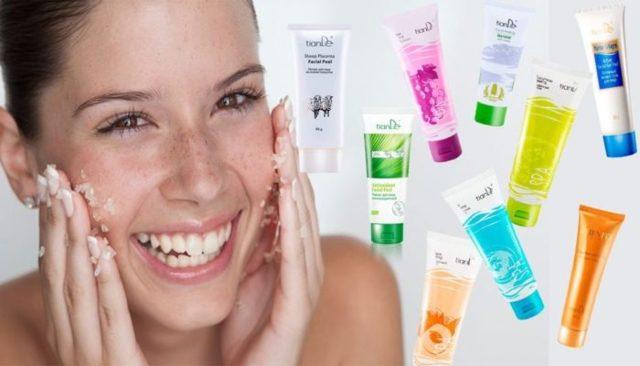 Тианде пилинг для лица: отзывы, молочный, лимонный, оливковый, из кожи и жира змеи, фото до и после