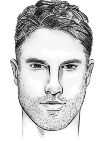 Какие формы и типы лица бывают у мужчин: подбор стрижки по индивидуальным особенностям лица. Как скорректировать форму лица при помощи очков?