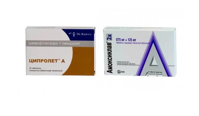 Амоксициллин или ципролет: что лучше, сумамед, линкомицин или кларитромицин, в чем разница между фемоклавом, ципрофлоксацином
