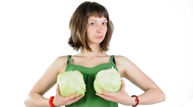 Когда у девочек начинает расти грудь?
