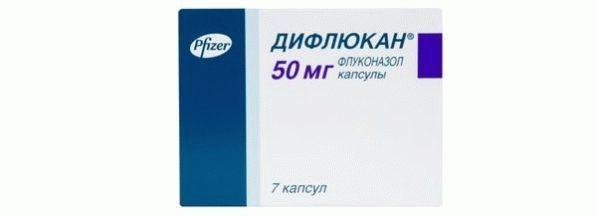 Через сколько действует дифлюкан 150 мг при молочнице