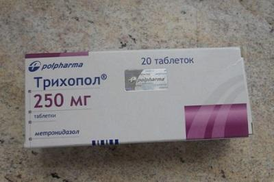 Трихопол при молочнице у женщин: курс лечения, дозировка