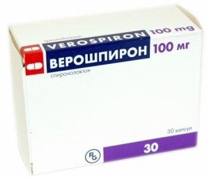 Верошпирон при поликистозе яичников назначение, противопоказания и побочные эффекты
