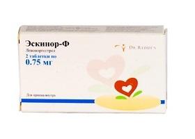 Экстренные средства контрацепции: «эскапел»: отзывы, показания и побочные эффекты