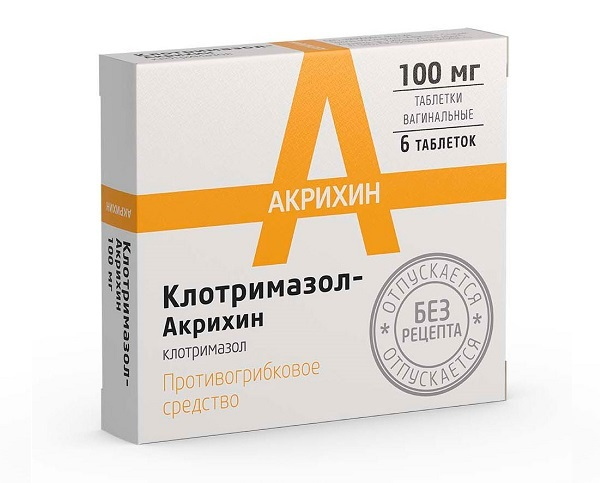 Клотримазол таблетки при молочнице: способ применения, инструкция