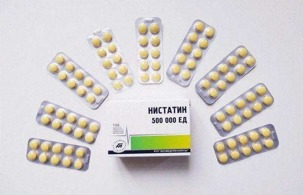 Нистатин при молочнице: свечи, таблетки и мази от кандидоза