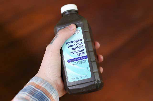 Перекись водорода при стоматите, перекись водорода от стоматита
